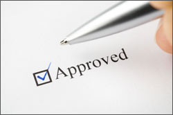 Merchant account - application approved