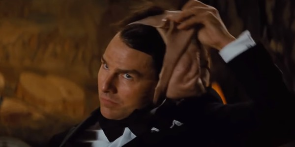 Tom Cruise Face Mask Reveal in Mission Impossible
