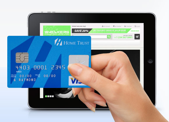 Online Purchase with a Visa Credit Card