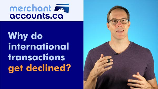 Why do international transactions get declined?